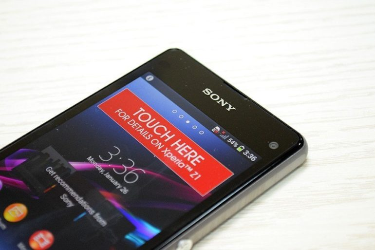 Sony Xperia Z1 Compact Unboxing.[Image Gallery]