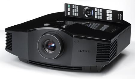 Sony Projector VPL-HW55ES Review.