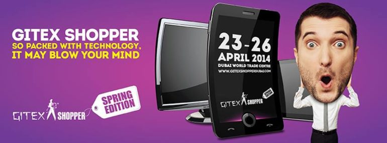 Gitex Shopper to Return for Tech Savvy Consumers on April 23rd.