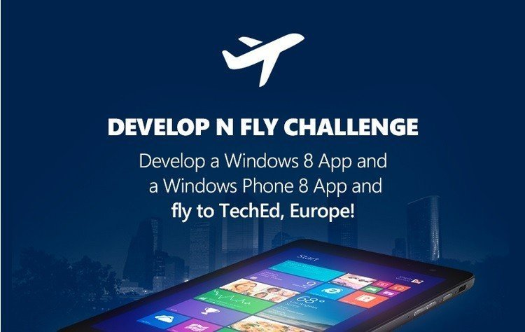 Participate in Microsoft App developer competition and win a trip to TechED Europe.