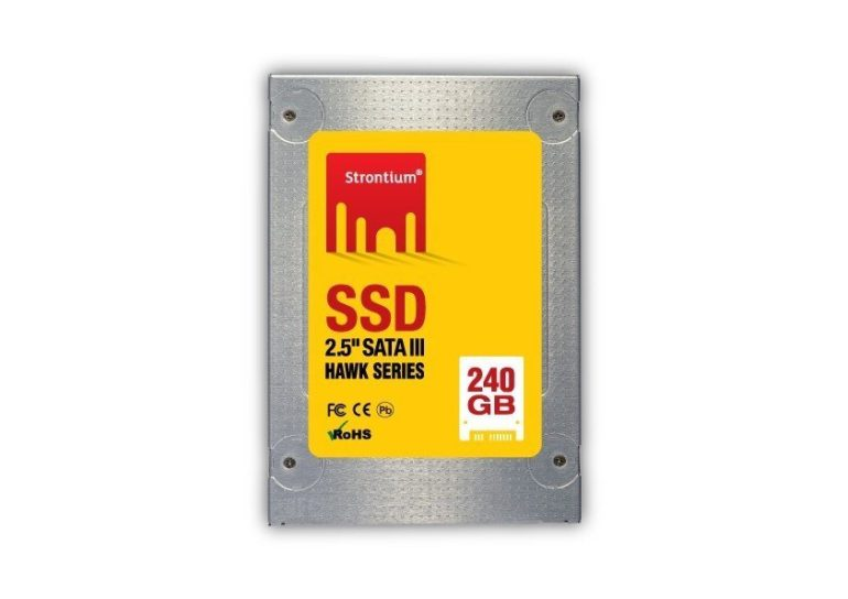 Strontium 240GB HAWK SSD Review.
