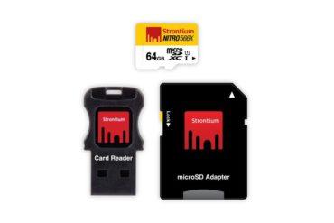 64 GB MicroSDHC UHS-1 Nitro 566X Card