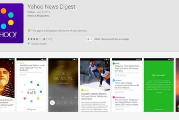 Yahoo News Digest - Now on Android - Adds International and Canadian Editions.