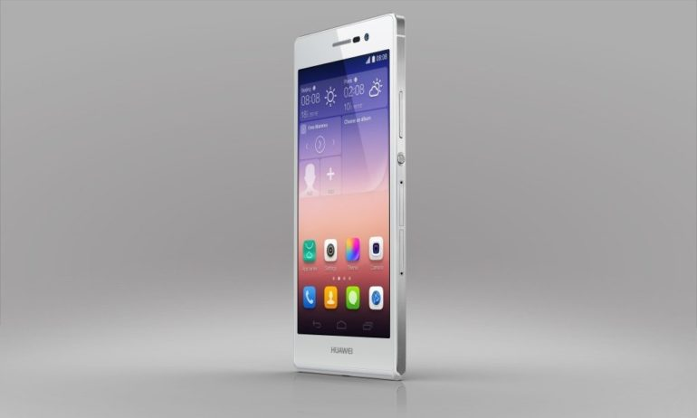 Huawei Launches Flagship Ascend P7 .