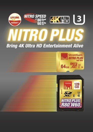 Strontium launches its much awaited ultra-high speed Nitro Plus series of microSD and SD Cards