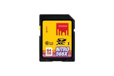 Strontium 64 GB SDHC UHS -1 NITRO 566X Card Review