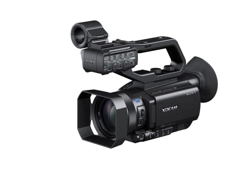 Sony has launched the 4K-ready PXW-X70, world's first compact XDCAM professional camcorder.