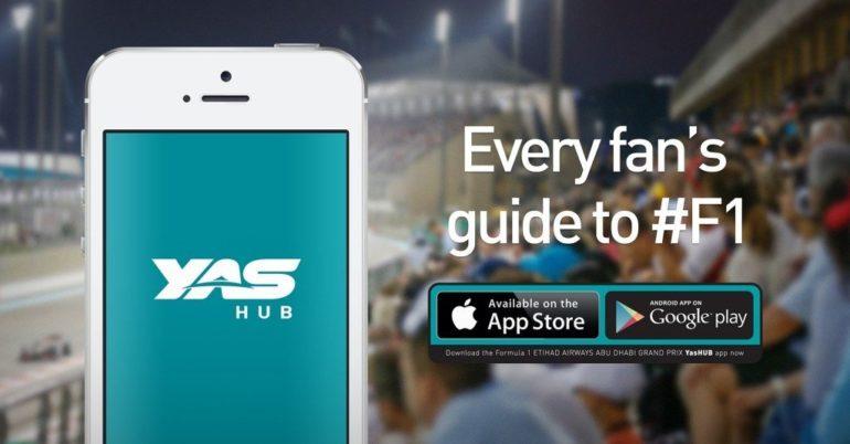 KEEP TRACK OF  F1 NEWS WITH 'YASHUB' APP.