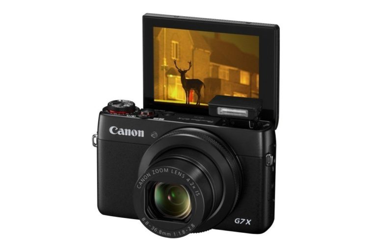 Canon Releases The PowerShot G7 X