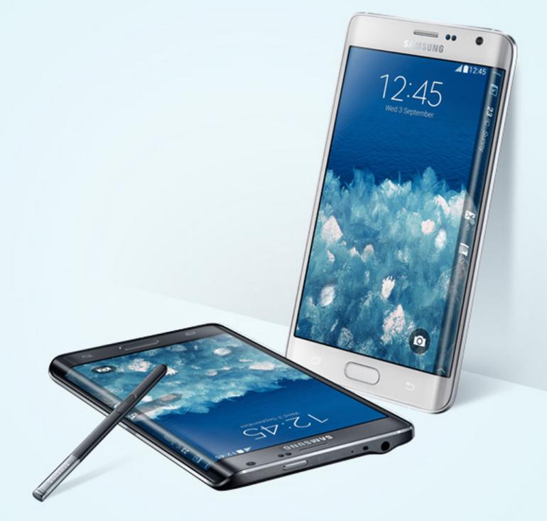 Samsung Introduces Galaxy Note 4, Note Edge in Dubai