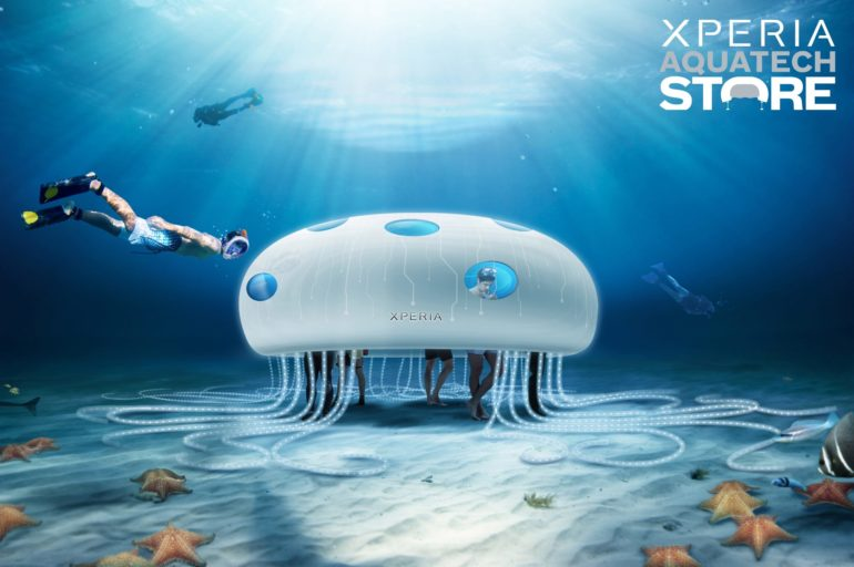 Sony Mobile Unveils the Design of Worlds first Xperia Aquatech Store