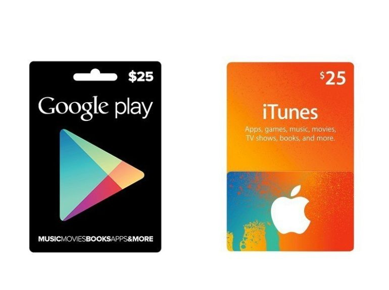Win Google Play & iTunes store gift cards. #Giveaway #Contest