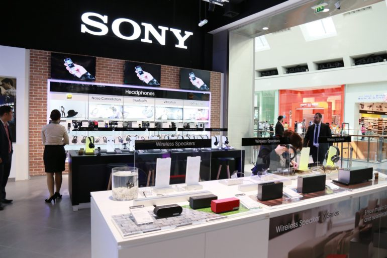 Sony Opens Flagship Boutique at Dubai Mall