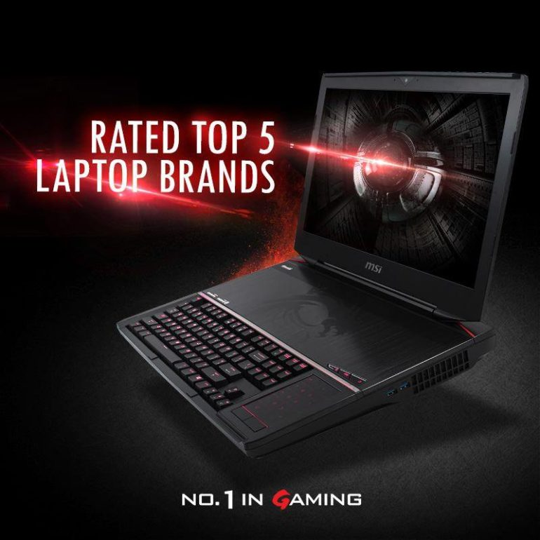 MSI Recognized by Laptop Magazine as World's 4th Best Laptop Brand of 2015