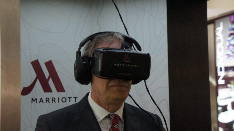 Marriott Hotels showcases Virtual Reality Travel at the Arabian Travel Market