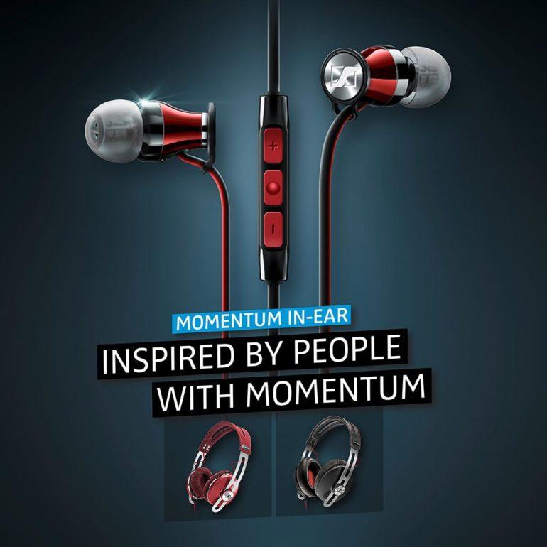 Sennheiser adds MOMENTUM In-Ear Black Chrome to its MOMENTUM range