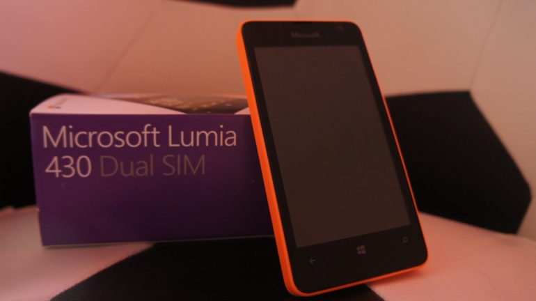 The Microsoft Lumia 430 Review