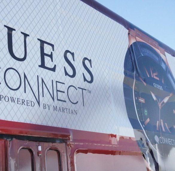 The New Guess Connect Powered By Martian
