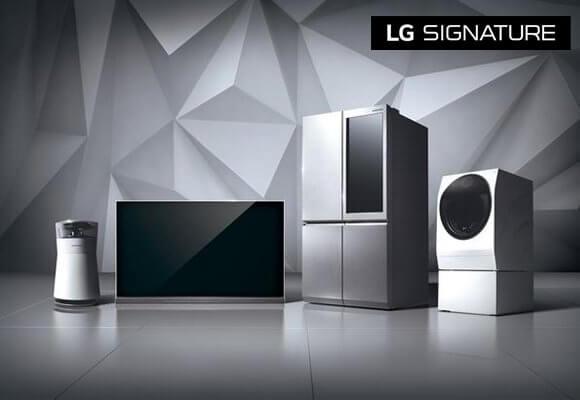 "LG's First Ultra-Premium Brand ""LG SIGNATURE"" Debuts Across the GCC"