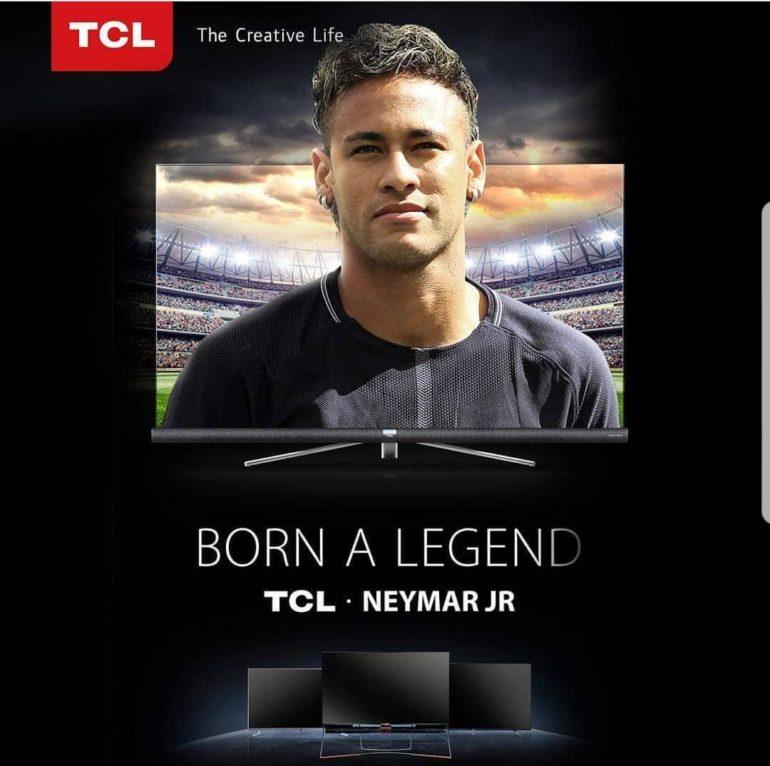 TCL APPOINTS BRAZILLION FOOTBALL STAR NEYMAR JR. AS GLOBAL BRAND AMBASSADOR