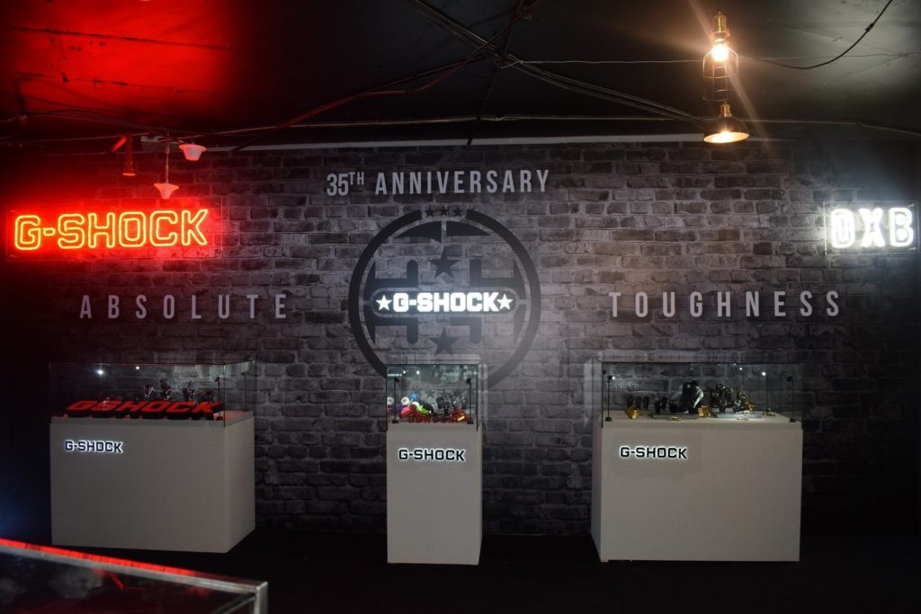 CASIO kicks off with G-SHOCK's 35th Anniversary MENA Tour in UAE.
