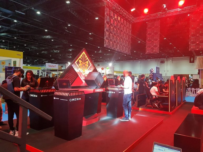 HP Hosts Showcases OMEN gaming Lineup at MEFCC #ComicCon #MEFCC
