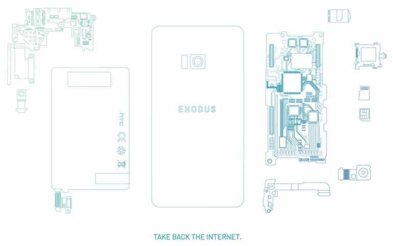 HTC launches 'Exodus 1' - the early access version of its blockchain phone