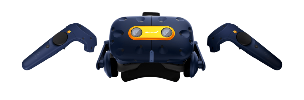HTC Vive and McLaren release limited edition VIVE Pro headset