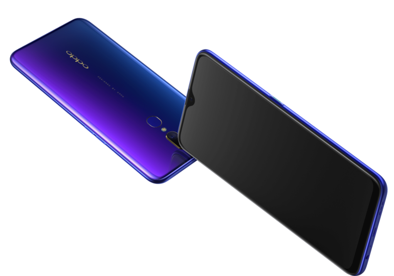 OPPO launches OPPO F11 in two dazzling colour variants Purple Blue and Dark Green.
