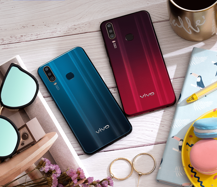 Vivo Introduces New Y Series With Triple Camera and 5000 mAh battery.