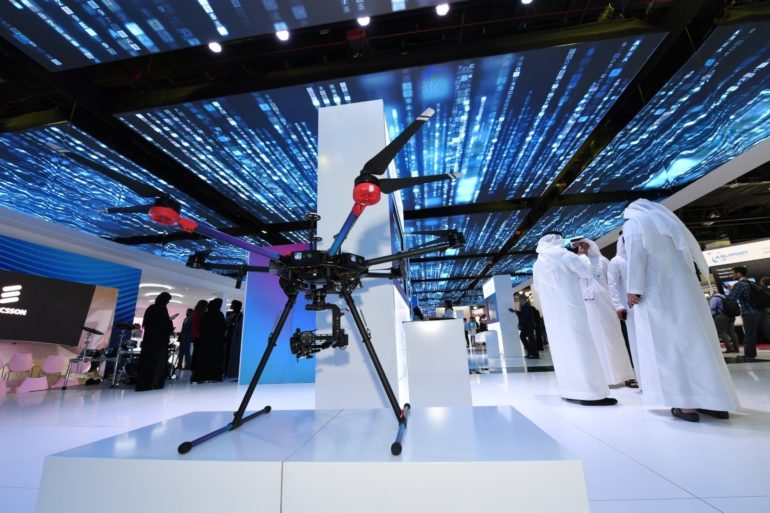 du Showcases the Future of Enterprise Drone Solutions at GITEX Technology Week 2019