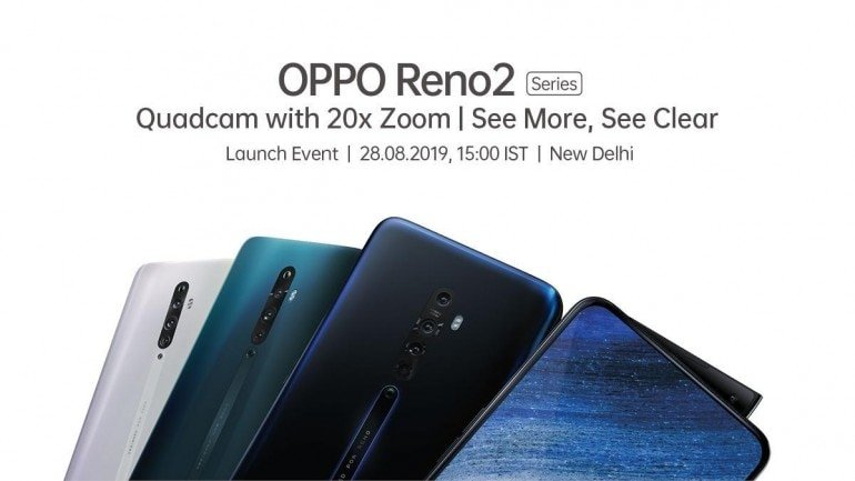 Oppo set to unveil the new Quadcam Reno2 series