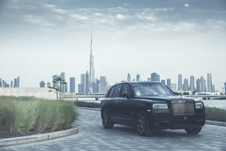 Black Badge Cullinan makes its Middle East Debut