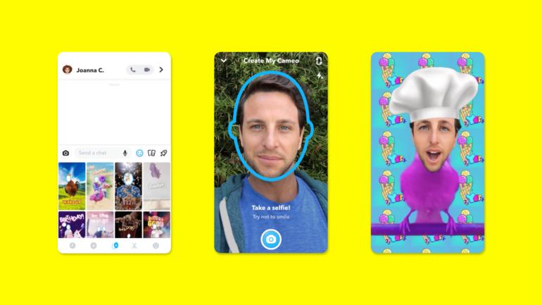Snapchat introduces Cameos