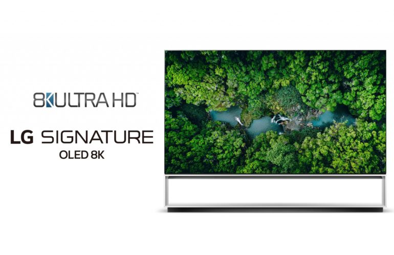 LG TVs first ever to exceed 8K definition
