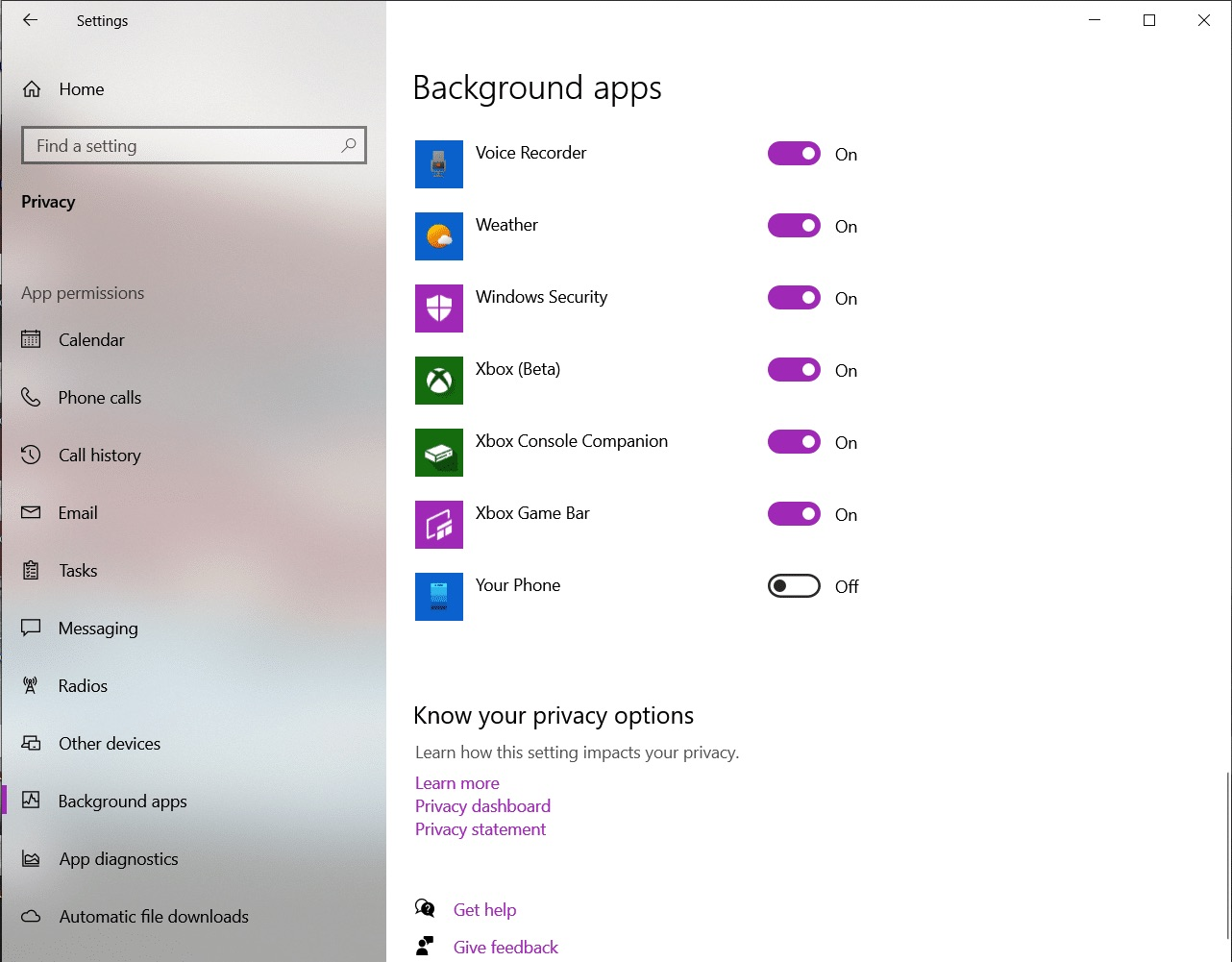 What is YourPhone.exe on Windows 10?