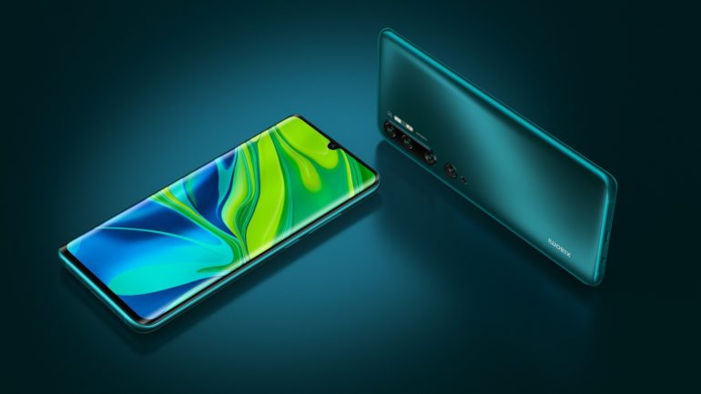 Xiaomi Launches the new Mi Note 10