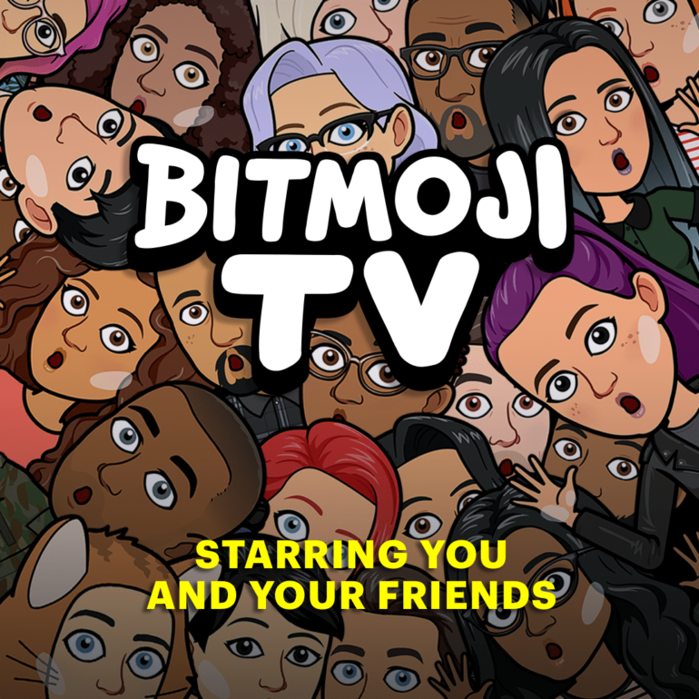 Star in Your Own Show with Snapchat's Bitmoji TV