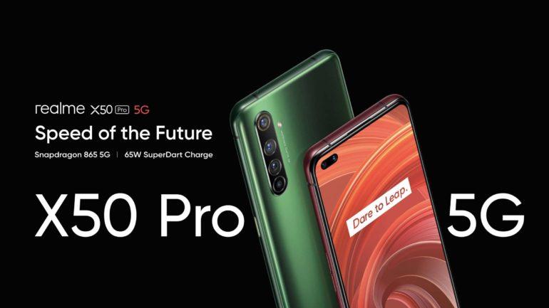 RealMe unveils the X50 Pro 5G