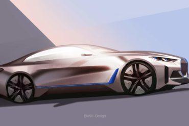 BMW reveals its new Concept i4