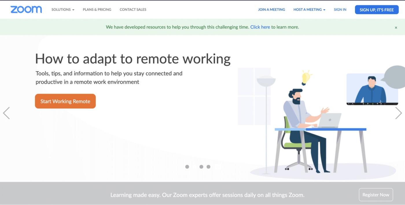 Hvor mange mennesker kan indkvarteres på en Zoom-videokonference?