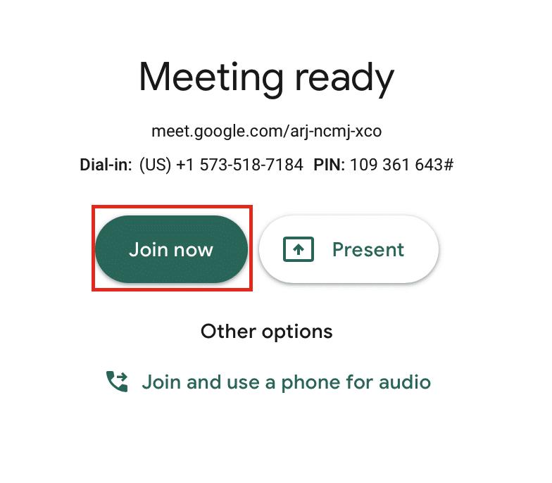Como usar o Google Meet (Hangouts) no PC