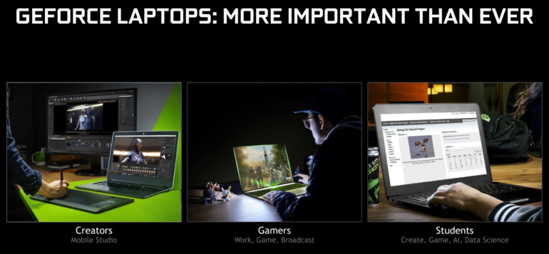 Get Ready for 100+ Nvidia Powered Laptops !!