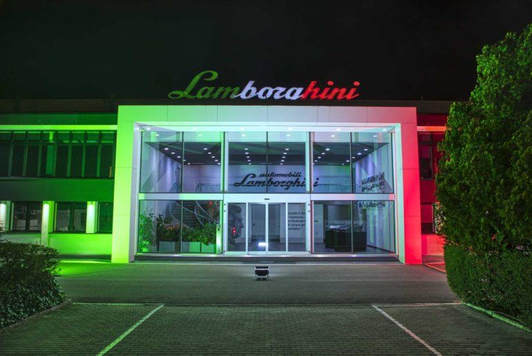 Automobili Lamborghini joins the fight against the Coronavirus