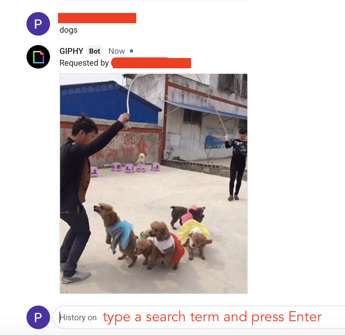How to send GIFs on Google Chat
