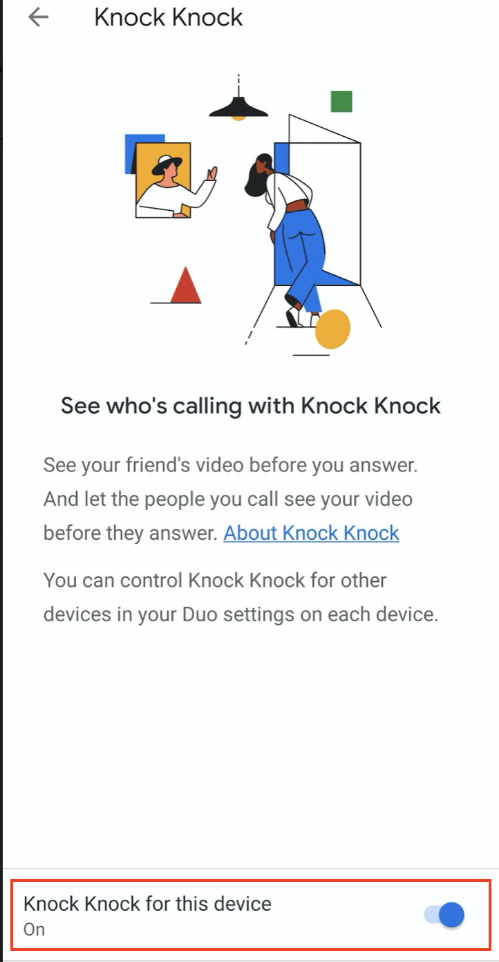 What is Preview on Google Duo