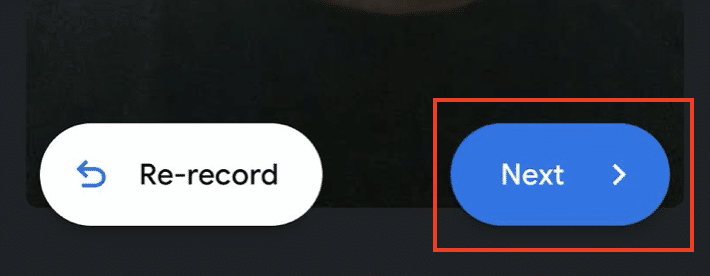 How to save a Google Duo Video message