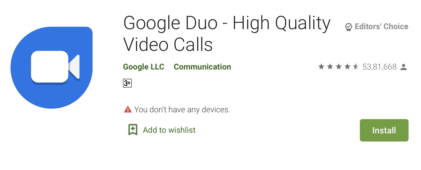 How to install Google Duo