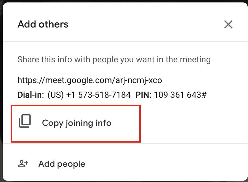 Wie benutzt man Google Meet auf dem PC?