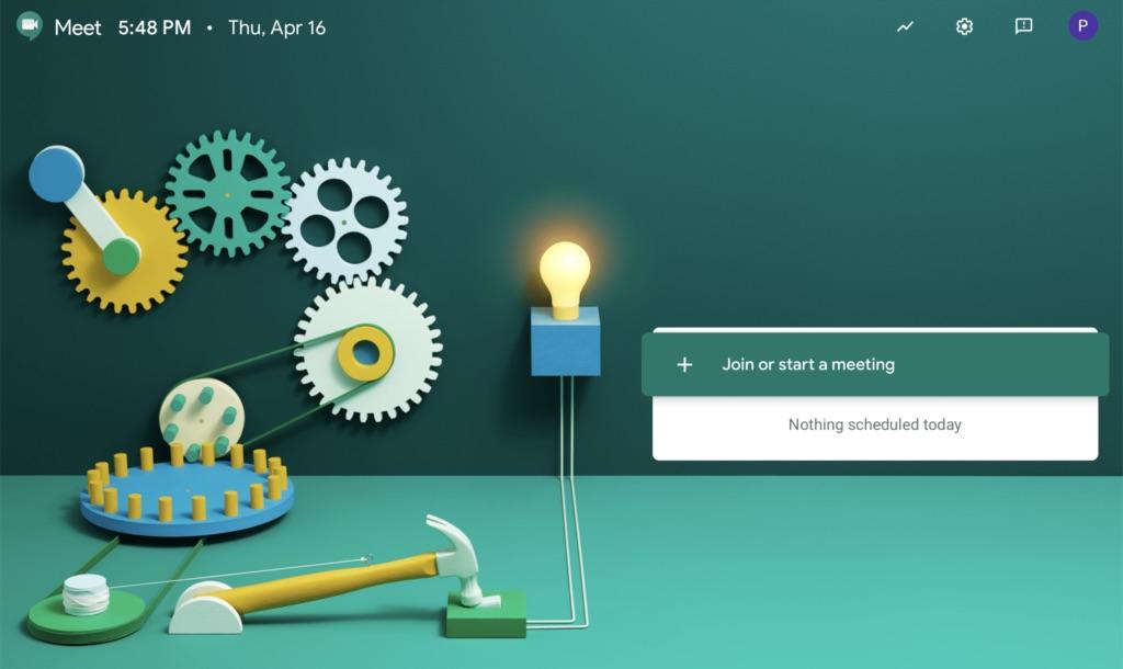 PC တွင် Google Meet (Hangouts) အသုံးပြုနည်း